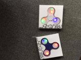 2017 friemelt de Nieuwe Hete LEIDENE van het Speelgoed van het Speelgoed van de Spinner van de Hand van de Spinner van de Hand Professionele Onderwijs Opvlammende Hand