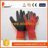 Nylon перчатка Dnl111 Crinkle латекса вкладыша