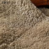 Echter und natürlicher Schaf-Pelz-Frauen-Pelz-Mantel