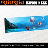 boleto de papel de la etiqueta engomada RFID del color 13.56MHz