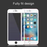 Protetor móvel Tempered da tela do realce de borda da impressão de seda para o iPhone 6/6s/6 mais a película do telefone