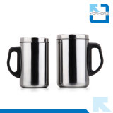 taza del acero inoxidable 500ml y taza populares del recorrido con diseño doble de la pared