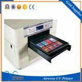 Stampante UV di 8 colori della stampatrice LED del getto di inchiostro doppio di plastica UV della lampada