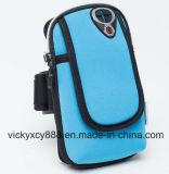 Bolso corriente del brazo del teléfono celular de la aptitud respirable de los deportes al aire libre (CY3644)