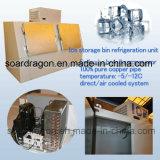 Quarto do congelador do escaninho de armazenamento do saco de gelo