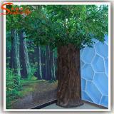 Nouveau motif décoratif en plein air artificiel Ficus vivant arbre de plantes