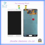 Экран касания LCD мобильного телефона для агрегата индикаций примечания 4 Samsung