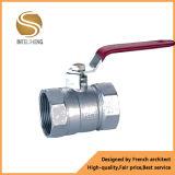 Válvula de control de cobre amarillo para el agua y el petróleo