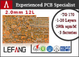 0.8mm profundidade da placa da resistência de 4 camadas Sidestep a placa do PWB