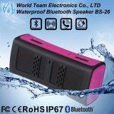 Multimedia sin hilos portables de Bluetooth los mini impermeabilizan el altavoz