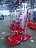 Piattaforma di lavoro con alluminio