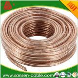 Cable del altavoz de la alta calidad, puede utilizar para la lámpara o la computadora, uso del cable de energía, cable del altavoz