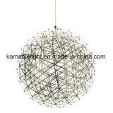 Dekorative LED hängende Stahlinnenlichter des rostfreien Sprung-(KA001)