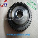 CNC Transmition подвергая отростчатую стальную шестерню механической обработке