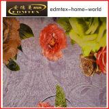 100% tessuto della tenda del velluto di stampa del tessuto lavorato a maglia poliestere (EDM0444)