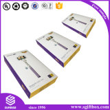 Kraftpapier-faltbarer verpackender Papiergeschenk-Kasten der Größen-A4