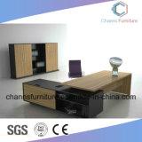 Escritorio de oficina de madera del vector del encargado moderno de los muebles