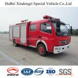 3ton Dongfengの水漕の普通消防車のユーロ4