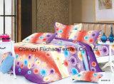 Gebildet im China-Polyester Microfiber druckte das Bettwäsche-Set, das für Haus verwendet wurde
