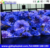Schermo di visualizzazione esterno pieno del LED dell'affitto di colore P8