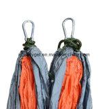 Singolo & doppio Hammock di campeggio con le cinghie dell'albero del Hammock, Hammock di nylon dei paracadute portatili per la corsa Backpacking