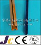 Perfil de alumínio revestido da extrusão do pó de 6063 T5 Corlorful (JC-W-10037)