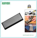 Double Double Sided Sharpener Diamond Knife Sharpening Stone Whetstone 400 # 1000 #