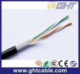 2 paires de câble téléphonique de câble de transmission