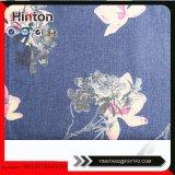Blume gedrucktes Gewebe des Denim-9oz für Dame Garment Hotsale