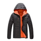 대조 안대기를 가진 도매 주문 아래로 남자 재킷