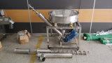 Machine de chargeur de levage de poudre avec le système de foreuse