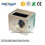Galvo de alta velocidade do laser Sg7210 do fabricante do Galvo do marcador do laser