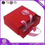 Contenitore di regalo impaccante voluto del tè del cartone del nastro di apparenza