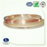 Bande plaquée précieuse en métal et de plaque métallique composé