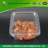 Contenitore di alimento asportabile a gettare dell'animale domestico di plastica libero