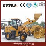 中国製小型車輪のローダー1.5トンのフロント・エンドローダー
