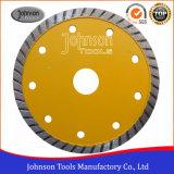 het 115mm Gesinterde TurboBlad van de Zaag van de Diamant voor Scherp Graniet