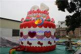 Het opblaasbare Opblaasbare Huis van de Uitsmijter van de Cake van de Pot