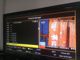 Sunplus 1507A H. 265 Mini-HD DVB-S2 mit arabischem IPTV Support WiFi, 3G, LAN