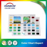 Tarjeta del color de la buena calidad para la capa de la decoración