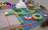Плавая раздувной парк воды для взрослых