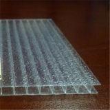 Hoja cristalina de Glitering del policarbonato para la decoración