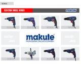 Taladro eléctrico de Makute 260W 6.5m m con el embalaje del rectángulo de color (ED001)