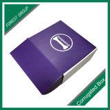 Costume uma caixa de presente do papel de impressão da cor da parte que empacota com a venda por atacado da laminação de Matt