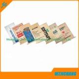 Reciclar bolsa de papel Kraft blanco de cemento de válvula para 20 kg