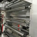 Machine d'impression à vitesse moyenne de rotogravure de la couleur Gwasy-B1 8 130m/Min