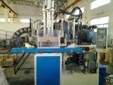 Máquina plástica da modelação por injeção de duas solas da estação