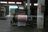 Máquina de carimbo lisa material de couro plástica do PVC Hoting dos PP do PE