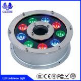 7W indicatore luminoso subacqueo della piscina LED di CC IP68