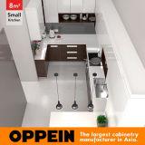 8 der ue-förmig moderne Art-kleinen Quadratmeter Küche-(OP16-HPL05)